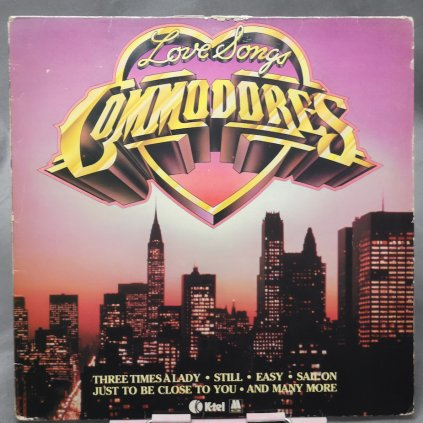 Commodores – Love Songs LP
