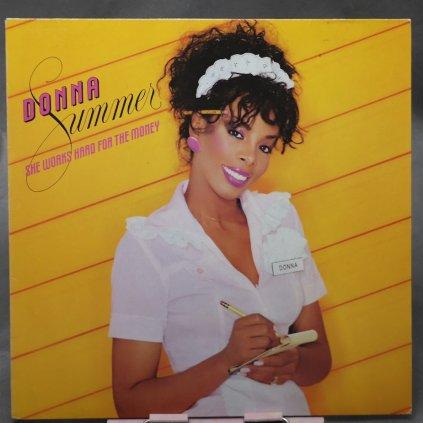 Donna Summer – She Works Hard For The Money LP