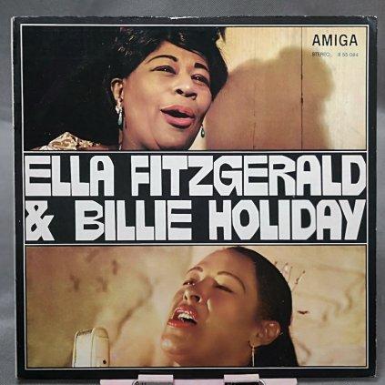 Ella Fitzgerald & Billie Holiday – Ella Fitzgerald & Billie Holiday LP