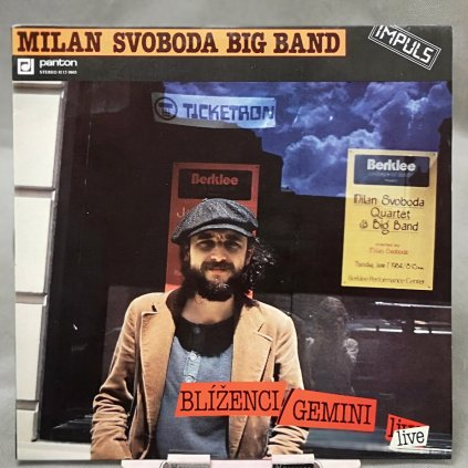 Milan Svoboda Big Band – Blíženci = Gemini (Live) LP
