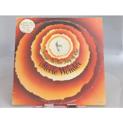 Stevie Wonder ‎– Songs In The Key Of Life + BOOKLET