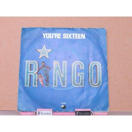 "Ringo Starr – You're Sixteen 7"""