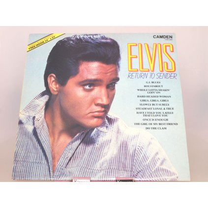 Elvis Presley ‎– Return To Sender