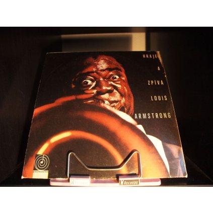 Louis Armstrong - Hraje a zpívá Louis Armstrong LP