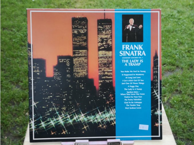 Frank Sinatra ‎– Legendary Concerts Vol. 1 The Lady Is A Tramp