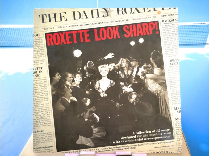 Roxette ‎– Look Sharp!
