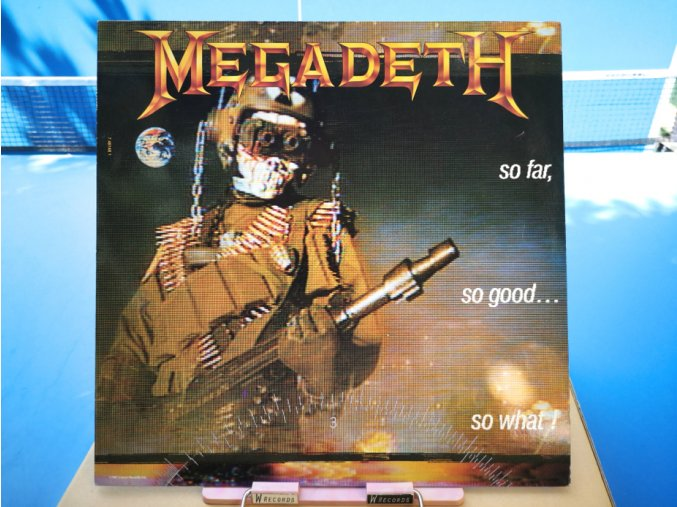 Megadeth ‎– So Far, So Good... So What!