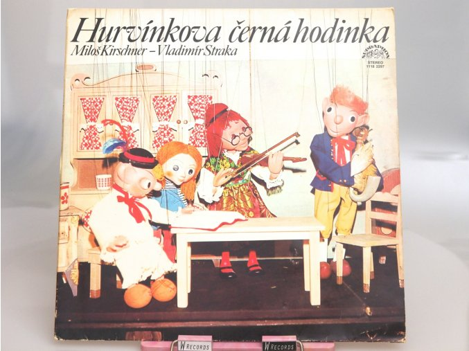 Spejbl & Hurvínek / Miloš Kirschner - Vladimír Straka – Hurvínkova Černá Hodinka