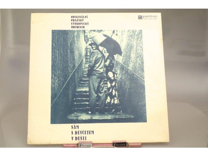 Originální Pražský Synkopický Orchestr – Sám S Děvčetem V Dešti