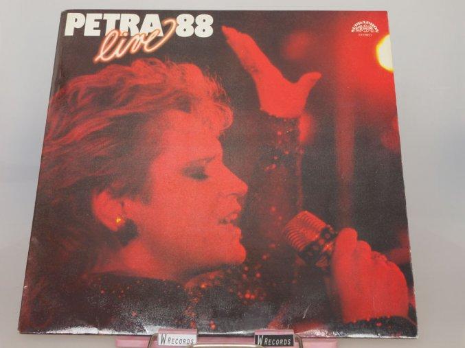 Petra Janů - Petra '88 Live