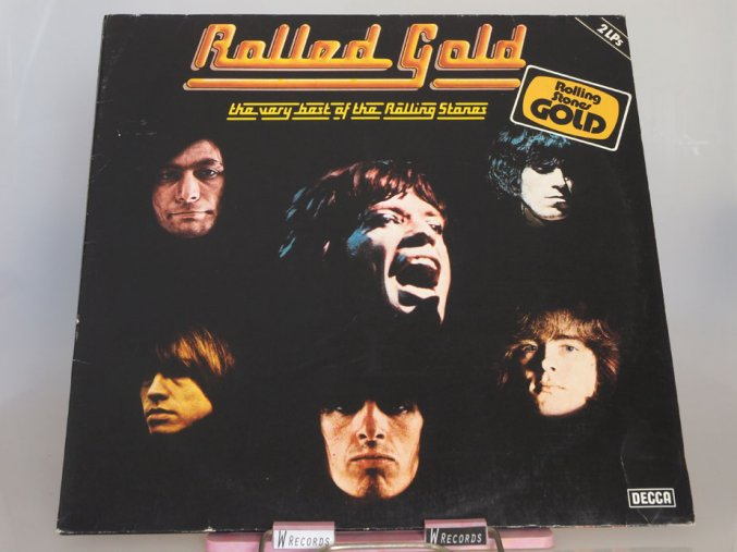The ‎Rolling Stones – Rolled Gold - The Very Best Of The Rolling Stones