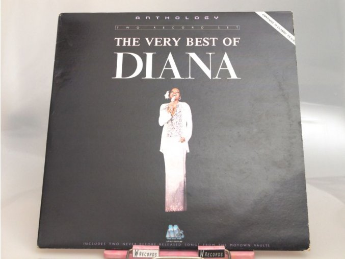 Diana Ross ‎– Anthology - The Very Best Of Diana Ross
