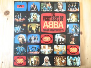 ABBA ‎– The Very Best Of ABBA (ABBA's Greatest Hits)