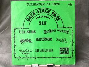 Various Artists ‎– Back-Stage Pass