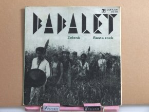 Babalet – Zelená / Rasta Rock