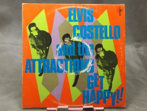 Elvis Costello And The Attractions ‎– Get Happy!!