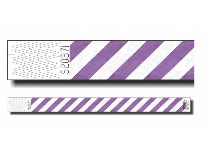 ID náramek bez potisku / ČERVENÝ NEON
