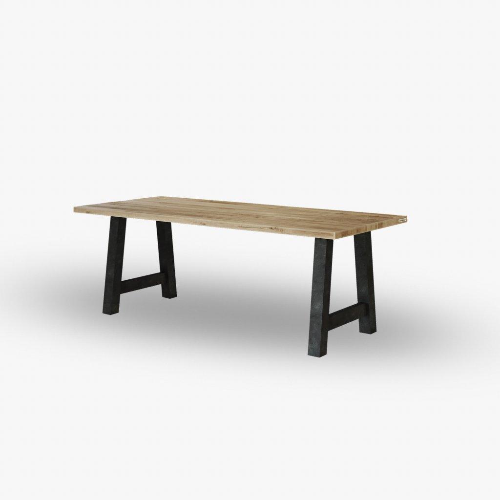 ručně vyrobený jídelní stůl z Hodonína