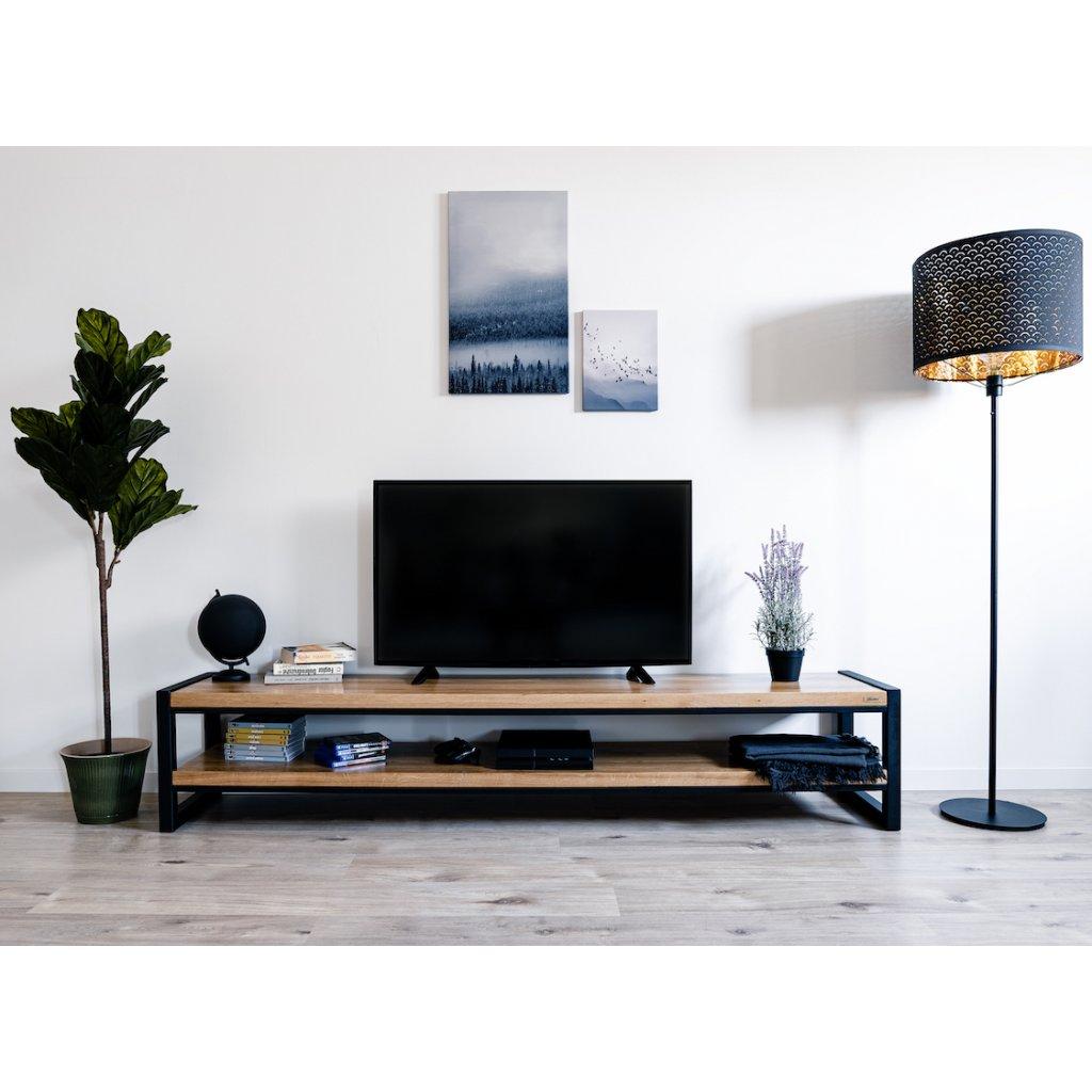 český designový tv stolek