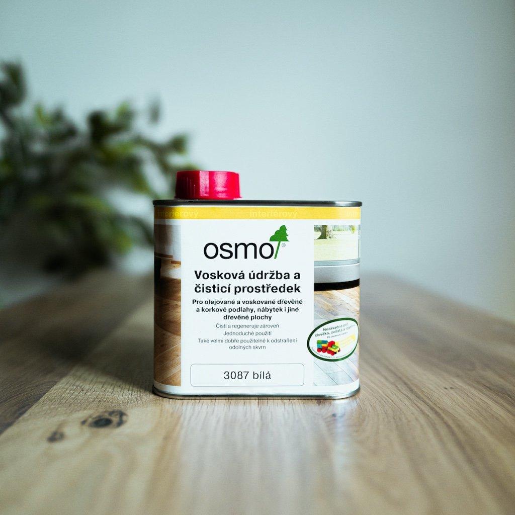 OSMO Vosková údržba a čistící prostředek 3087 bílý 0,5l