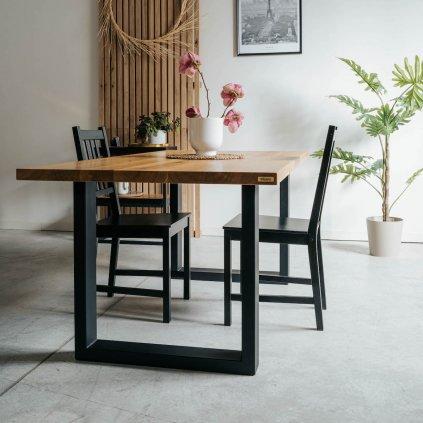 Minimalistický jídelní stůl Nil