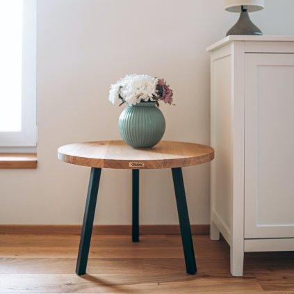 designový konferenční stolek z masivu