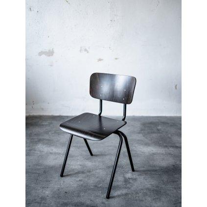 industriální jídelní židle