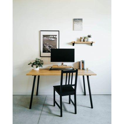 dřevěný pracovní psací stůl Irving