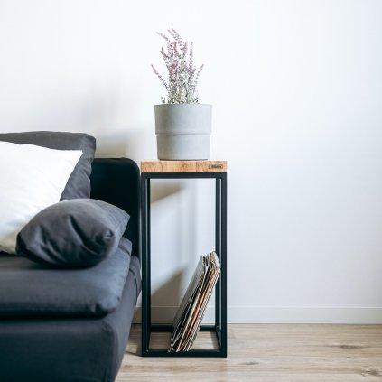 designový odkládací stolek