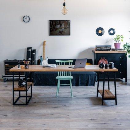 stůl do pracovny z masivu