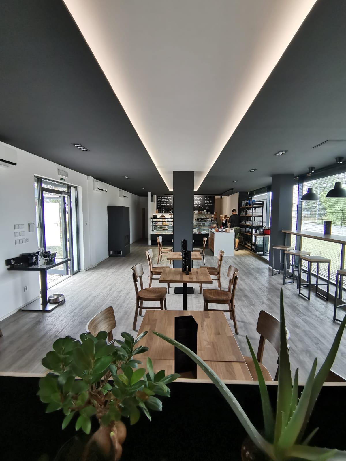 Vybavili jsme novou kavárnu BLOCK-cafe v Uhříněvsi