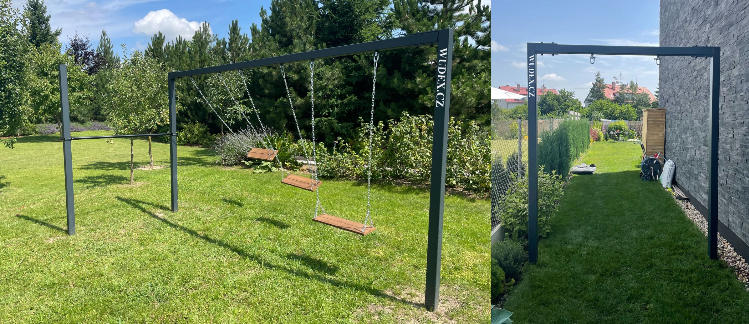Zahradní houpačka pro děti a dospělé
