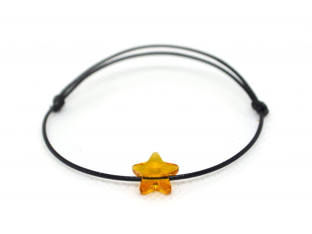 Oranžová hvězdička