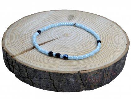 Mini modra merl tmave kameny III