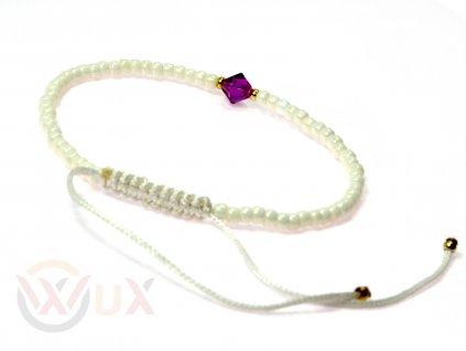 Mini perlet fialovy SW