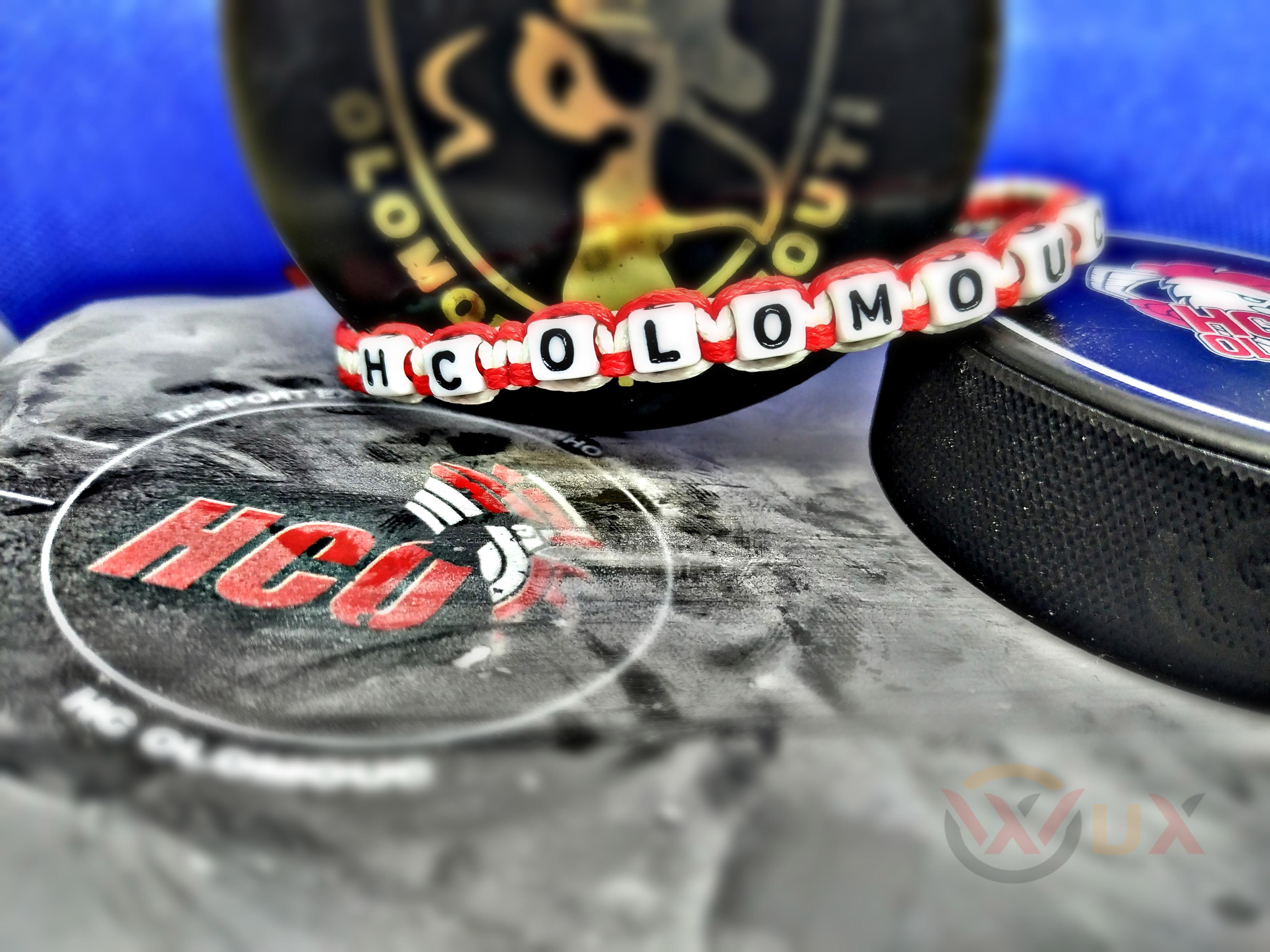 Klubový náramek HC Olomouc