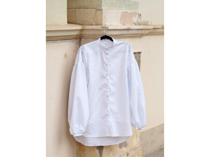 Košile Collarless
