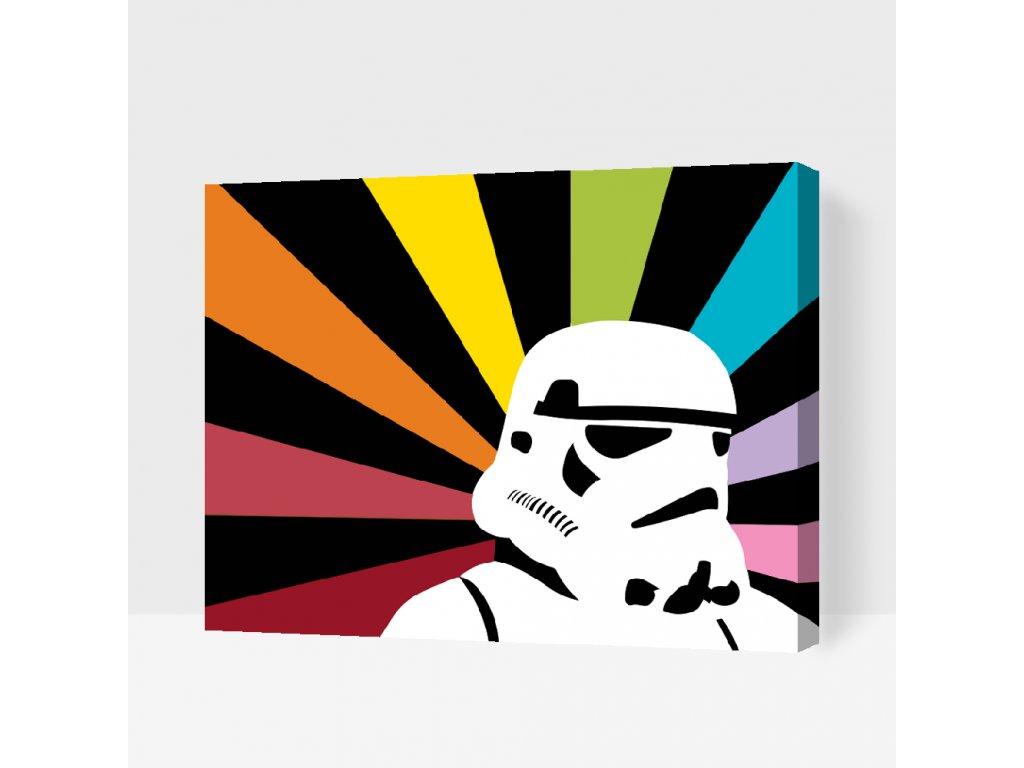 Malowanie po numerach - Stormtrooper