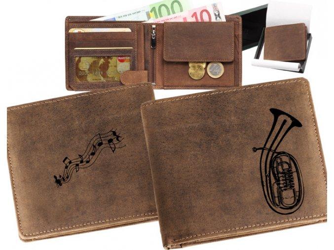 mały portfel męski skórzany bombardon