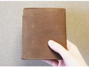 portfel dla wędkarzy, portfel z pstrągiem