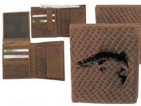 portfel z rybą, portfel z rybką