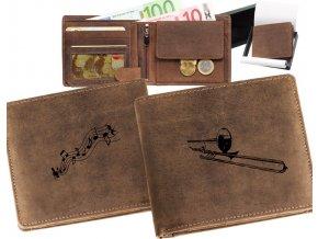 mały portfel męski skórzany puzon