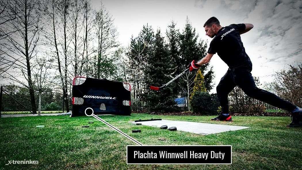 Plachta na branku Winnwell Heavy Duty