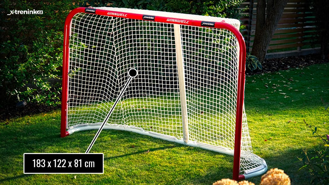 Hokejová branka Winnwell Pro Form - test v praxi