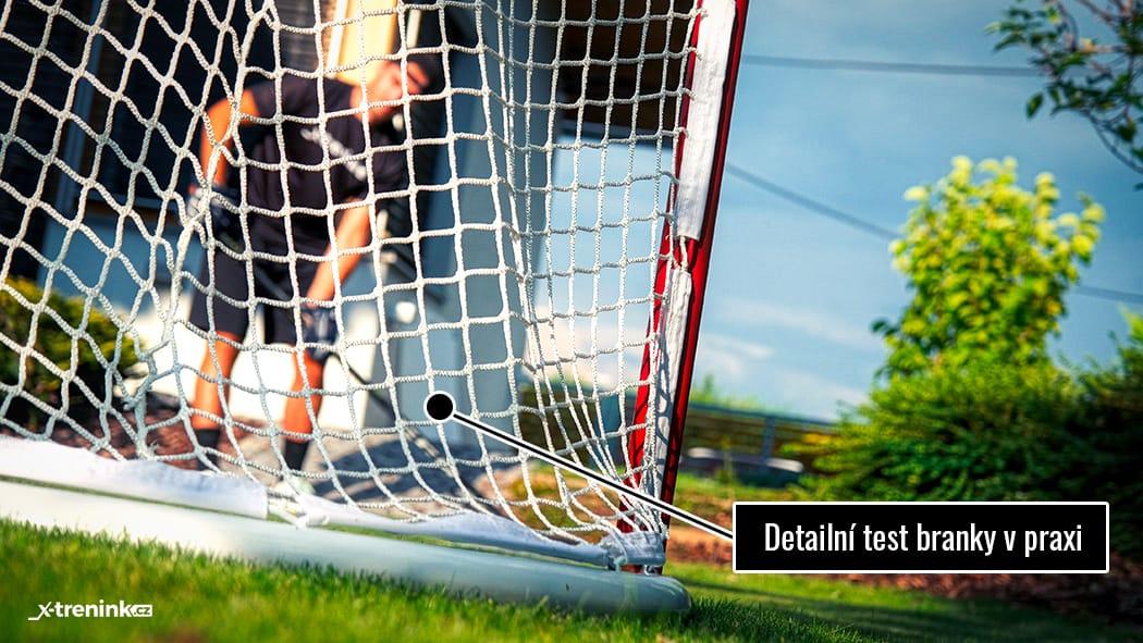 Branka na hokej Winnwell Pro Form - testování v praxi