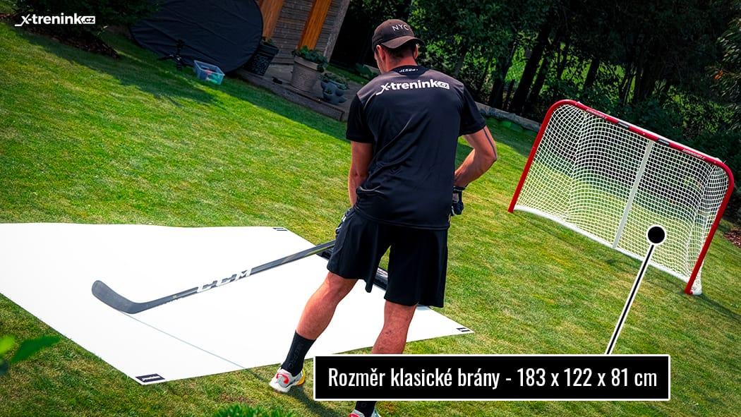 "Rozměry hokejové branky Winnwell Heavy Duty 72"""