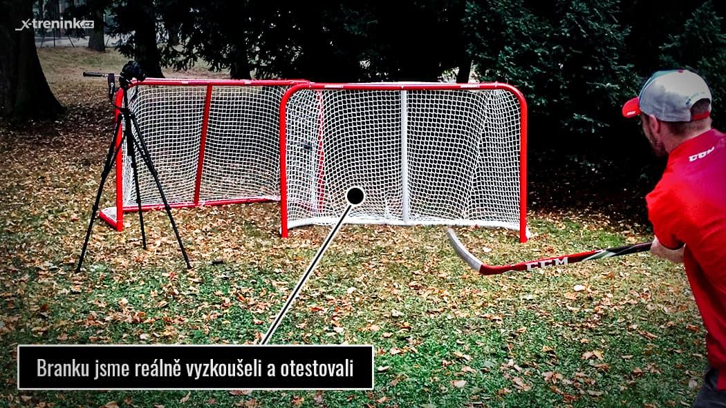 """Test hokejová branka Winnwell Heavy Duty 72"""""""