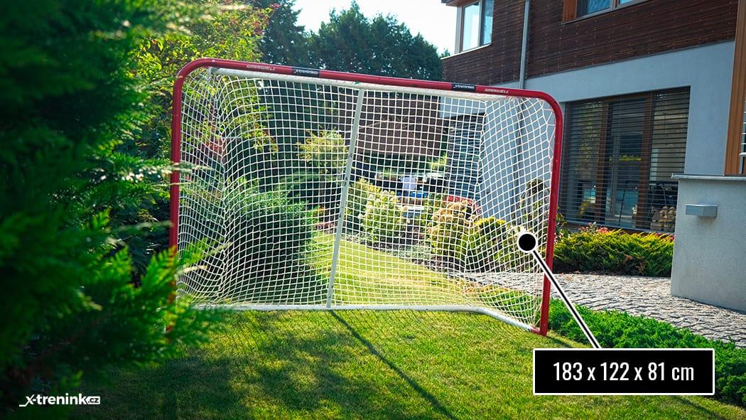 "Branka na hokej Winnwell 72"" s užšími tyčemi 3,8cm"