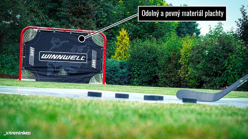 """Hokejová plachta na trénink střelby Winnwell Accushot 72"""""""