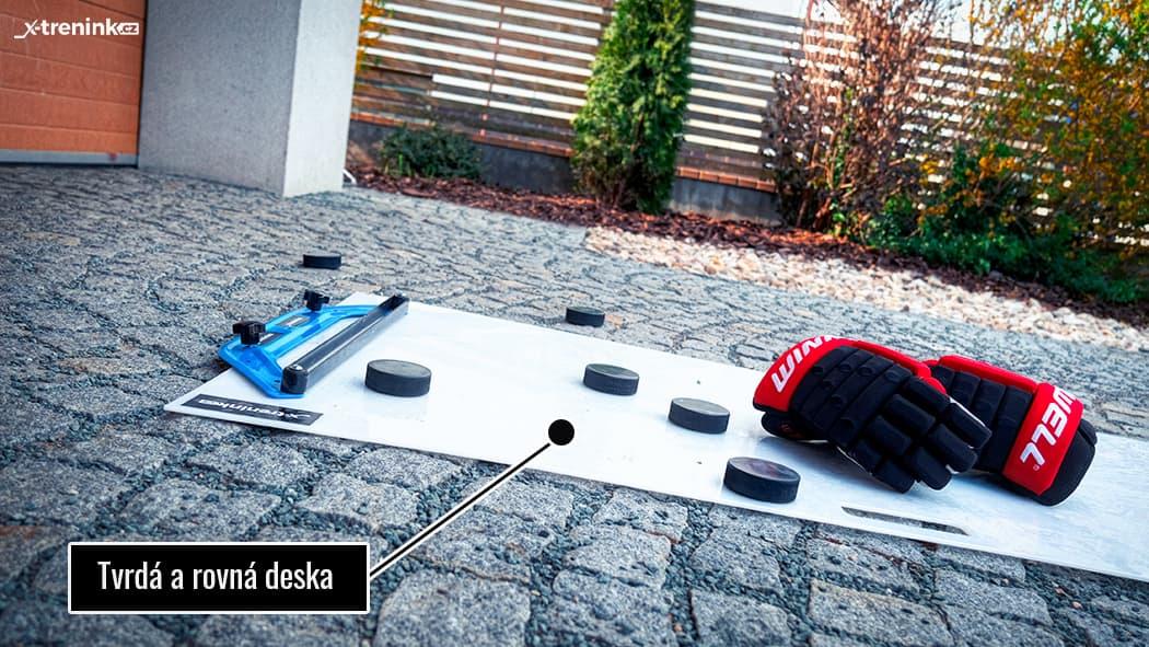 Výborná deska na hokejový trénink Shooting Pad Extreme 150 x 75cm